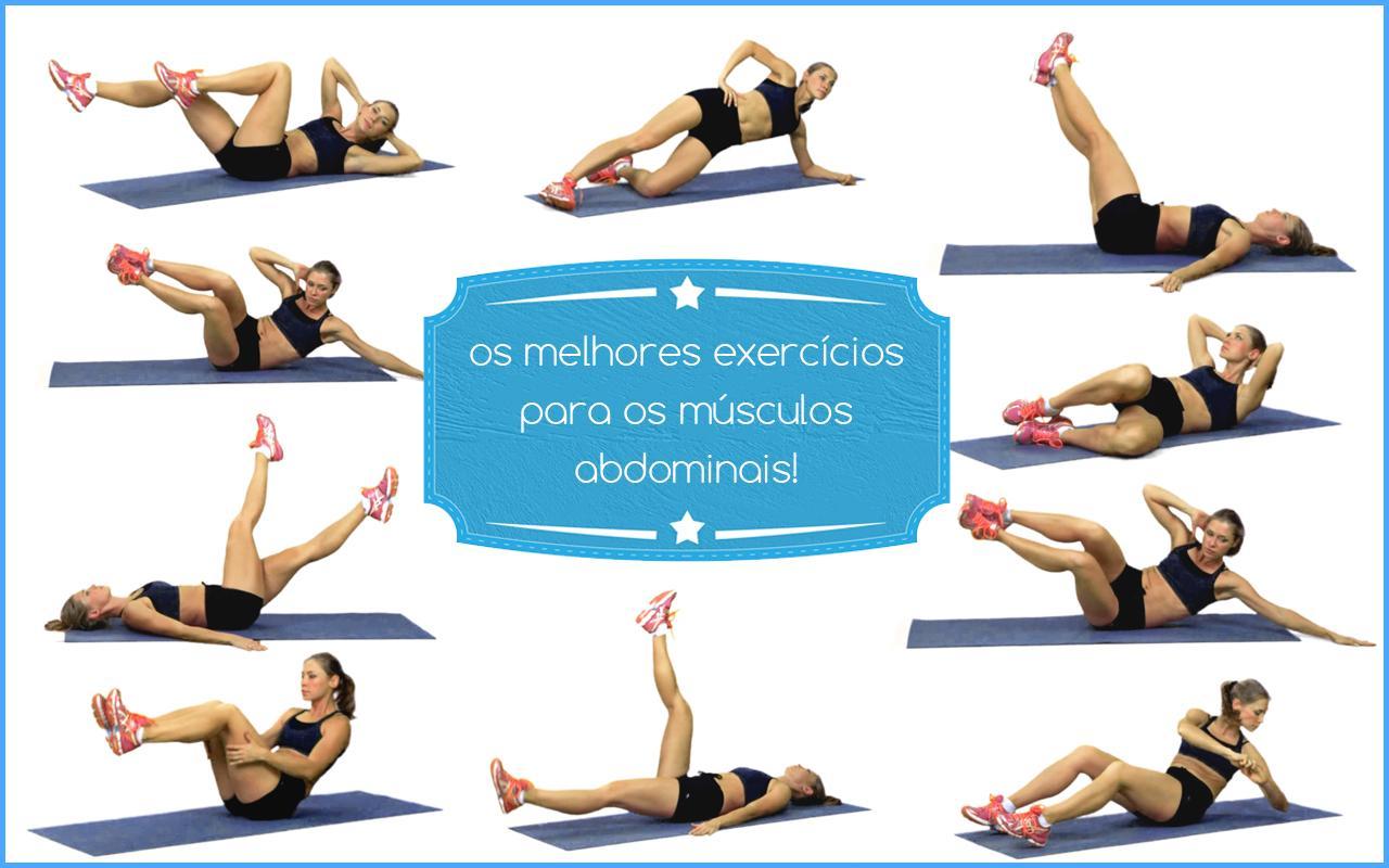 Os melhores exercícios e treino para abdômen